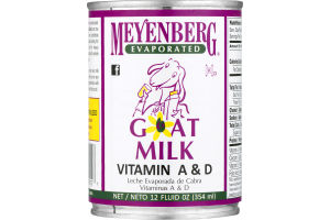 Meyenberg Evaporated Goat Milk Vitamin D