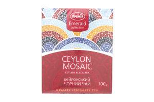 Чай черный Премія Ceylon Mosaic цейлонский листов