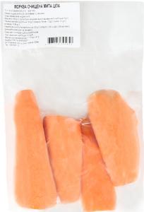 Морква очищена мита ціла 500г