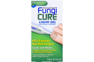 Fungi Cure Maximum Strength Liquid Gel Anti-Fungal Treatment