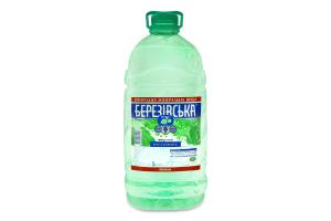Вода мінеральна негазована Березівська п/пл 5л