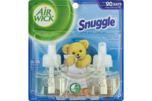 Air Wick Scented Oil Refills Snuggle Fresh Linen - 2 CT