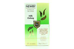 Чай Newby Молочний Оолонг 25пак. 50гр