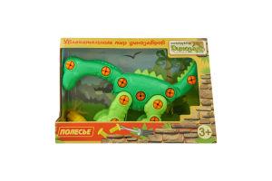 Конструктор для детей от 3лет №77165 Диплодок Динозавр Полесье 1шт