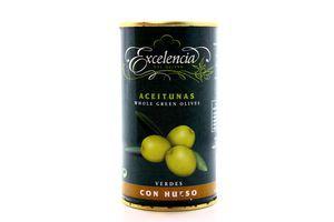 Оливки с косточками Excelencia ж/б 350г