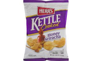 Herr's Kettle Cooked Honey Sriracha Potato Chips