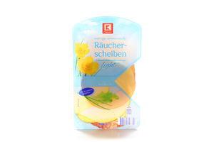 Сир K-Classic Leicht копчений 30% 250г Німеччина нарізка