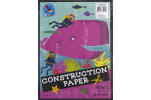 Top Flight Construction Paper - 48 Sheets