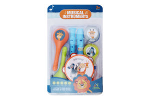 Набір іграшковий для дітей від 3років №6805E Musical Instruments Країна Іграшок 1шт