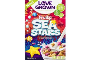 Love Grown Fruity Sea Stars Cereal