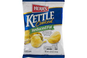 Herr's Kettle Cooked Reduced Fat Potato Chips