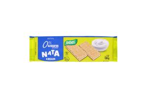 Вафлі кремові без цукру Nata Cream Rellenas Santiveri м/у 120г