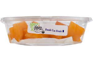 Nature's Promise Organic Fresh Cut Fruit Cantaloupe Chunks