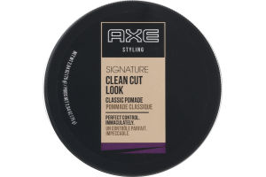 Axe Styling Signature Clean Cut Look Classic Pomade