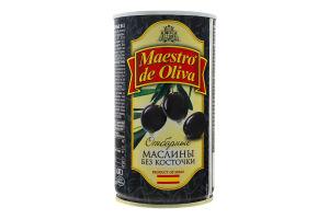 Маслини без кісточки Добірні Maestro de Oliva з/б 360г