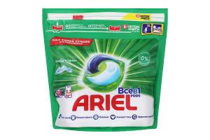 Средство моющее синтетическое жидкое в растворимых капсулах Горный источник Ariel 35х25.2г