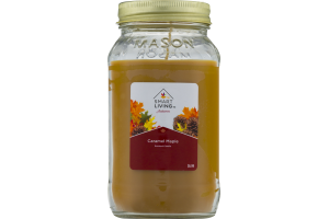 Smart Living Scented Candle Caramel Maple