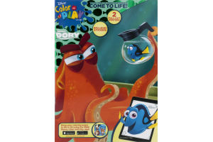 Disney Finding Dory Color And Play Book
