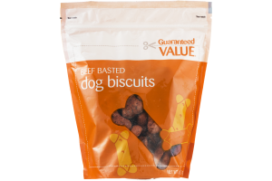 Guaranteed Value Beef Basted Dog Biscuits