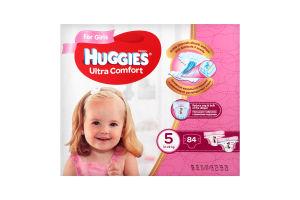 Підгузки Huggies UC Box (5) girl 84 шт