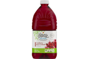 Nature's Promise Juice Cocktail Cranberry