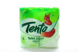 Бумага туалетная 2-х слойная Green Tento 4шт