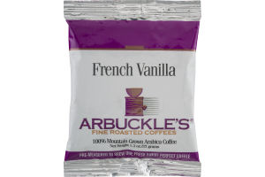 Arbuckles Fine Roasted Coffees French Vanilla