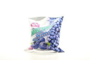 Йогурт 2,5% черничный п/э Заречье 500г