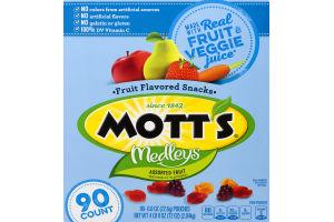 Mott's Medleys Fruit Flavored Snacks Assorted Fruit - 90 CT