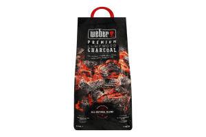 Уголь древесный Weber 3кг