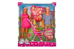 Набір ляльок для дітей від 3-х років №3200 Happy family Steffi love Simba 1шт