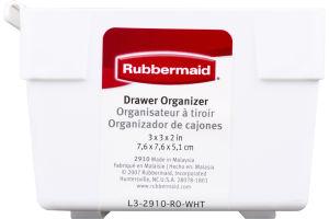 Rubbermaid Drawer Organizer White