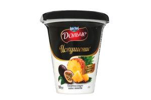 Йогурт Десертний Спокуса 2,5% ананас-маракуйя Дольче стаканчик 300г