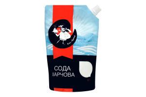 Сода харчова Еко-Бренд д/п 600г