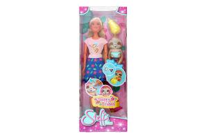Лялька для дітей від 3років з аксесуарами №5733436 Sleepy Friend Steffi Love Simba 1шт