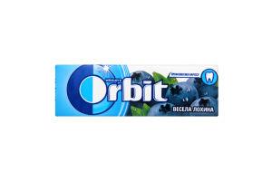 Резинка жевательная без сахара Веселая голубика Orbit м/у 14г