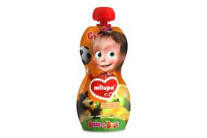 Пюре для дітей від 6міс Яблуко-манго-апельсин Milupa д/п 100г