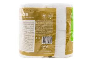 Папір туалетний 3-х шаровий Selecta Ruta 8шт