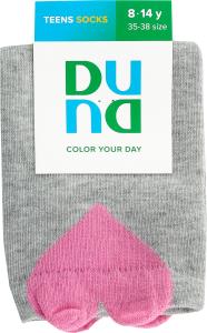 Шкарпетки для підлітків Duna №9003 22-24 світло-сірий