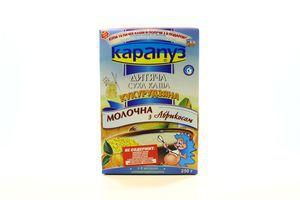 Каша молочна рисова Карапуз 250г