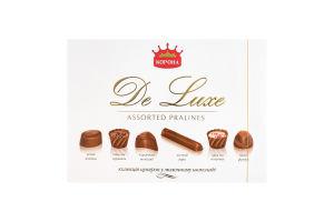 Конфеты в молочном шоколаде De Luxe Корона к/у 146г