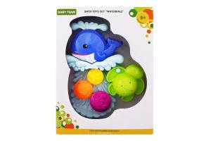 Набір іграшок для дітей від 9міс для ванни №9025 Водоспад Baby Team 1шт