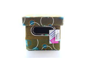 Короб Handy Home з кришкою Шоколад і бірюза FBB01-S