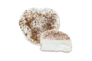 Сир 42.24% м'який з білою пліснявою Дзвінка із сіллю та коріандром копченим Сироман кг
