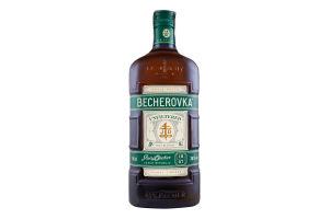 Настоянка 0.5л 38% лікерна на травах Unfiltered Becherovka пл