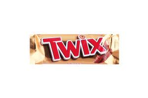 Печенье песочное с карамелью и молочным шоколадом Twix м/у 2х25г