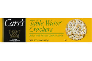 Carr's Table Water Crackers Roasted Garlic & Herbs