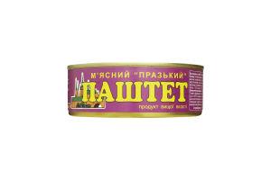Паштет мясной Пражский ОПК ж/б 240г