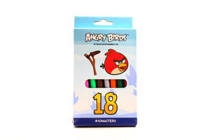 Фломастери Angry Birds 18шт