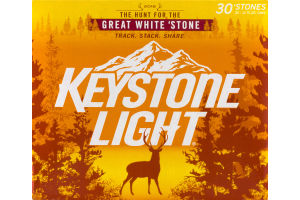 Keystone Light - 30 PK